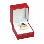 Ring Box: Red, Case of 144