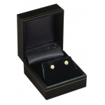 Earring Box: Black, Case of 144