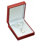 Pendant Box: Red, Case of 144