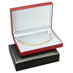 Necklace Box: Red, Case of 72