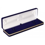 Velvet Watch/ Bracelet Box: Blue