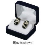 Velvet Large Earring Box: Black