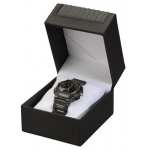 Leatherette Watch Box: Black