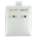 "1.5"" x 1.75"" Ear Puff Pads: 14k, Box of 200"