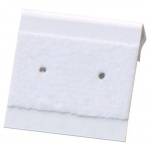 "1"" x 1"" Flip Hang Cards: White, Pack of 200"