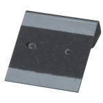 "1"" x 1"" Flip Hang Cards: Black, Pack of 200"