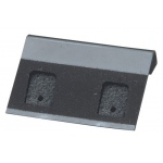 "1.5"" x 1"" Clip Hang Cards: Black, Pack of 200"