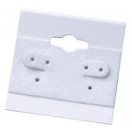 "1.5"" x 1.5"" Hang Cards: White, Pack of 200"