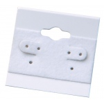 "2"" x 2"" Hang Cards: White, Pack of 200"