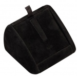 1-Ring Clip Display: Black Suede