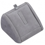 1-Ring Clip Display: Gray Suede