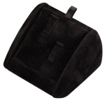 2-Ring Clip Display: Black Suede