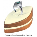 Marquise Ring Clip Display: Black/Beechwood