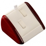 2-Ring Clip Display: White/Cherry