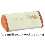 3-Ring Slot Display: Black/Beechwood