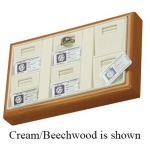6-Ring with Mini Certificate: Black/Beechwood