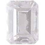 AAA Rated Emerald Cut Cubic Zirconia: 10.0 x 8.0mm, 3.00cts