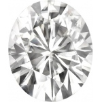 Forever Brilliant Oval Moissanite: 11.0 x 9.0 mm