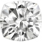 Forever Brilliant Cushion Moissanite: 10mm