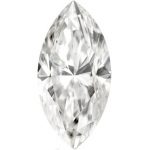 Forever Brilliant Marquise Moissanite: 13.0 x 6.5 mm