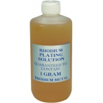 Rhodium Plating Solution: 1-Gram
