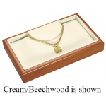 Prestige Necklace Tray: White/Cherry