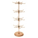 "Copper 4-Tier Spinner: 7"" x 20""H"
