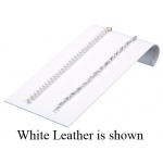 5-Bracelet Ramp: Off-White Leather