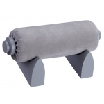 Bangle/Watch Tube On Stand: Gray Suede