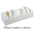 Watch/Bangle Tray with Pillow: Black Suede