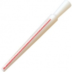 Plastic Ring Stick: White