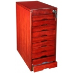 10-Drawers Wood Key Cabinet