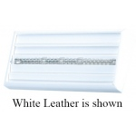 4-Bracelet Tray: Off-White Leather