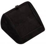 Cufflink Display: Black Suede