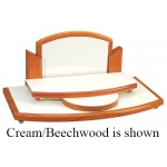 "7"" 2-Level Window Display: Black/Beechwood"