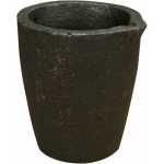 Graphite Crucibles: 1500 Grams Capacity
