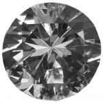 Round Crystal: 30 mm