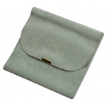Japanese Suede Necklace Set Folder: Gray/Gray