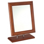 Mirror: Mahogany Wood