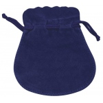 "Blue Suede Pouch: 2.5"" x 3"", Pack of 10"