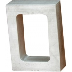 "1 Cavity Mold Frame: 1-7/8"" x 2-7/8"", 1/2"" Thick"