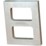 "2 Cavity Mold Frame: 1/2"" Thick"