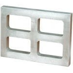 "4-Cavity Mold Frame: 3/4"" Thick"