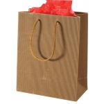 "Corrigated Tote Bag: 4"" x 2.75"" x 4.5"", Pack of 10"