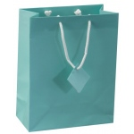 "Blue Tote Bag: 4"" X 2.75"" X 4.5"", Pack of 10"