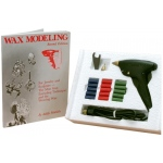Matt Gun Kit Wax Rods: Green, 20 Pieces per Box